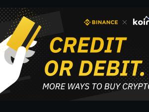 バイナンスではクレジットカードで仮想通貨が購入可能!