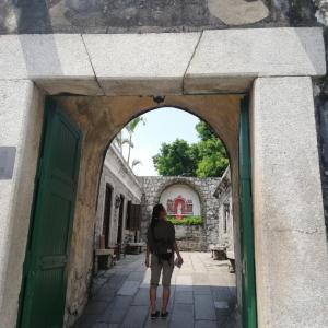 香港&台湾旅行4日目★マカオへ、世界遺産巡りです。