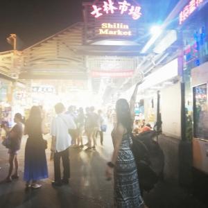 香港&台湾旅行5日目★台湾へ、士林夜市を堪能しました!