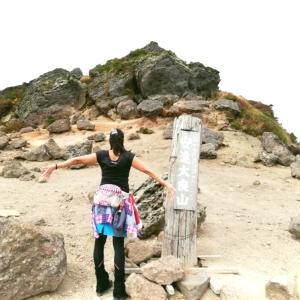 福島県の百名山、安達太良山に登ってきました!