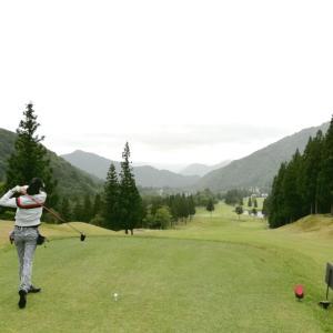 今日は新潟県でゴルフでした!