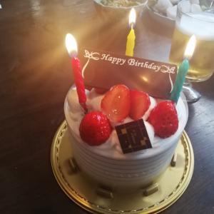 女子友は最高年齢の超大人女子、のお誕生日でした。