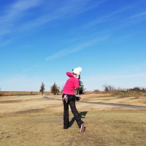新春初打ちゴルフです!