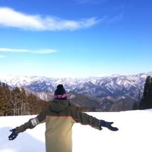 ノルン水上スキー場でスノボやってきました!
