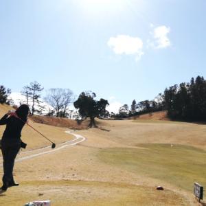 ゴルフでした!