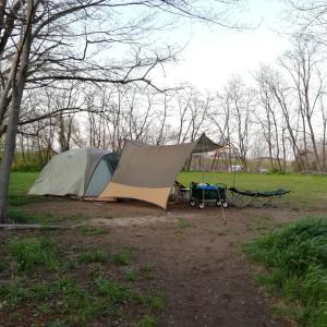今日はキャンプへ!
