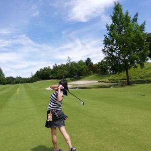 ゴルフでした。