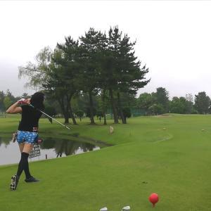 今日もゴルフでした。