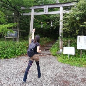 日本百名山の「蓼科山」に登ってきました!