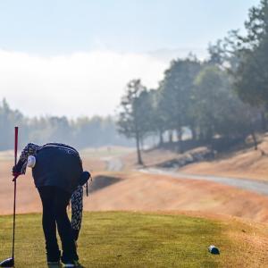 ゴルフの練習で打ち放題に。
