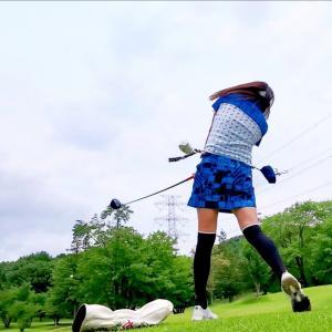 ましこゴルフ倶楽部でゴルフからのキャンプです。