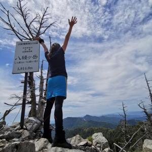 先日の八経ヶ岳登山の動画を作ってみました。