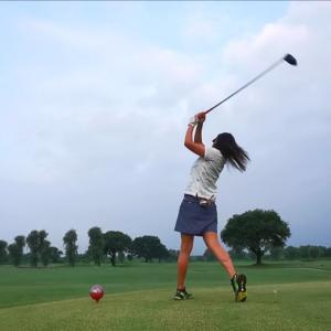 古河ゴルフリンクスでゴルフでした〜。