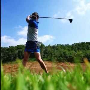 北海道4日目はグレート札幌カントリー倶楽部でゴルフでした。