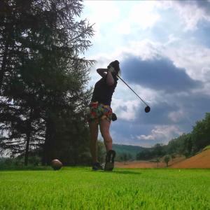北海道旅行5日目はチサンカントリークラブ銭函でゴルフでした。