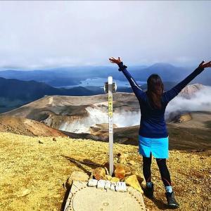 北海道(道東)旅行3日目は雌阿寒岳に登ってきました