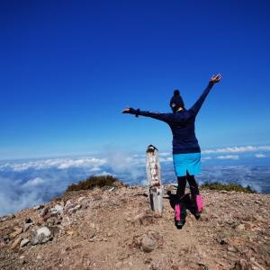 北海道(道東)旅行5日目は、斜里岳に登ってきました。