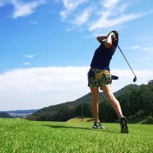 今日は鷹ゴルフクラブでゴルフでした。
