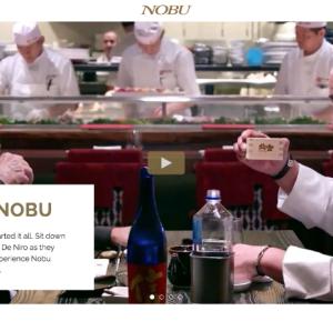 Nobu Istanbul へ作品制作