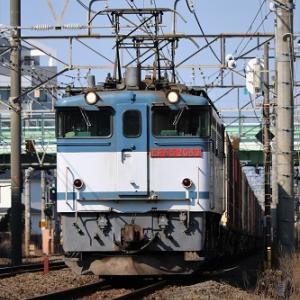 ダイヤ改正後初の、東武70000系甲種輸送