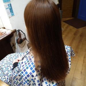 縮毛矯正とヘアカット