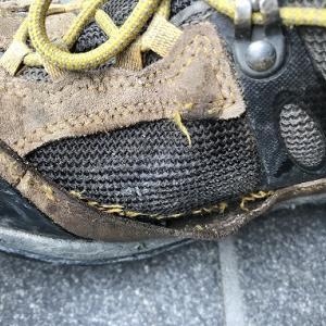 登山靴の寿命(夏靴)