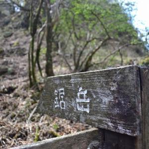 「蓬莱山~鋸岳~位牌岳~前岳」2019/5/5