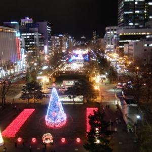 ミュンヘンクリスマス市とホワイトイルミネーション