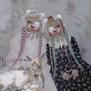 鹿じゃーん/璃冬&冬璃(りのとあ)双子。