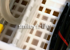 セリアで収納用品購入&仕切りボックスに自作の縦仕切り