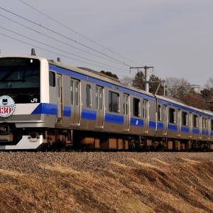 近郊型電車にヘッドマーク 2