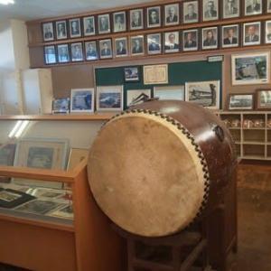 学校史資料室とビオトープ(家中小学校調査)
