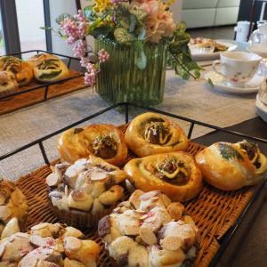パン教室(たこ焼きパンとショコラモンキーブレッド)