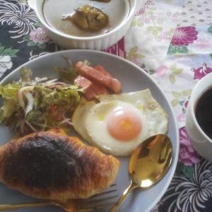 ホテル風?の、朝食。