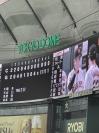 広島(東京)◯11-8 生観戦の醍醐味