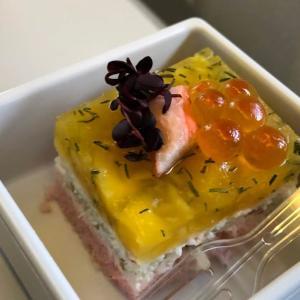 空のグルメ旅行 エールフランス ビジネスクラスの機内食