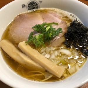 ビブグルマン麺!煮干魚介らぁ麺@とうひち(京都)