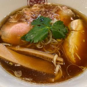 〆麺!鶏醤油らぁ麺@とうひち(京都)