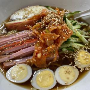 ボリューム満点!台湾冷麺&回鍋飯@九龍居(豊川)