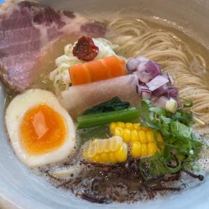 ランチ麺!白湯麺に替玉@ORIBE(豊橋)