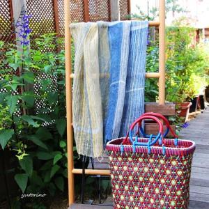 手織りの優しさ~天然素材で織る夏アイテム