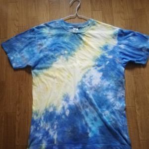 夜空とホタルとTシャツと。