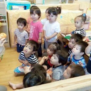 【あかいちご組】♡♥ 野菜スタンプ遊び ♡♥