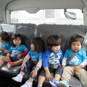 【きいちご組】☆★ 園バスで初めてのドライブ ★☆