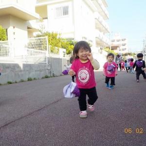 【さくらんぼ組】♪♪ サンエー裏遊歩道へお散歩 ♪♪