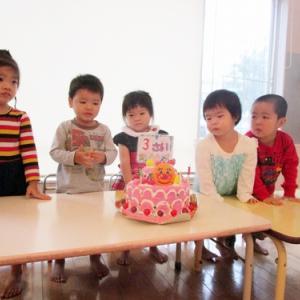 【ゆず・みかん組】♬♬ お誕生会 ♬♬