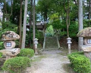 鹿嶋神社の紫陽花1