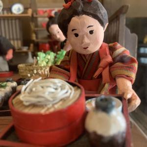 桐屋権現亭 蕎麦屋人形