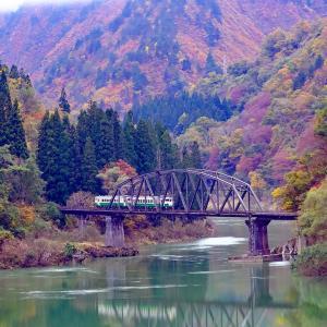 第四橋梁・会津中川~会津川口(只見線)