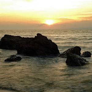 雲海(間瀬海岸)